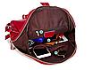 Рюкзак женский кожаный Hilary Черный, фото 7