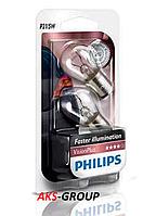 Комплект ламп PHILIPS P21/5W VisionPlus 12V  12499VPB2