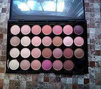Профессиональная палитра теней для макияжа 28 цв без логотипа маленькая палитра, фото 1