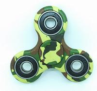 Игрушка - камуфляж Finger Spinner зеленый (Хенд Спиннер) Антисресс