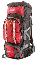 Рюкзак туристический с накидкой на 80 литров DEUTER GRETE 80 (красный)