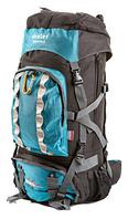 Рюкзак туристический с накидкой на 80 литров DEUTER GRETE 80 (голубой)