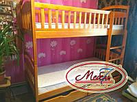 Двухъярусная кровать - Карина СП, самая низкая цена от производителя, Акция!!!, с удобной  лестницей