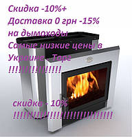 Печь каменка для бани  «Горизонталь-ПКС - 04 Кожух из нержавеющей стали» Профи