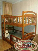Двухъярусная кровать - Карина — Люкс, самая низкая цена от производителя, Акция!!! С удобной лестницей