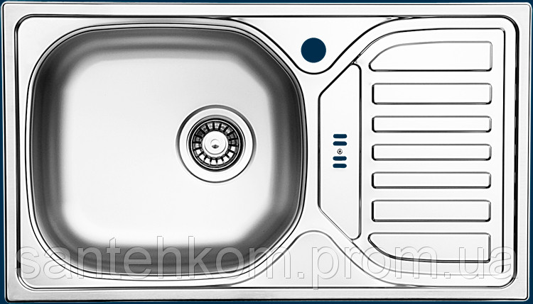 Кухонная мойка UKINOX CMM* 760.435 GT 6K (Satin) Турция