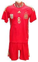 Форма сборной Испании Евро 2016 домашняя