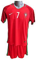 Форма сборной Португалии Евро 2016 домашняя
