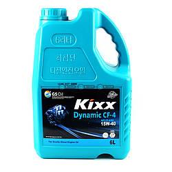 Моторное масло Kixx Dynamic CF 15W-40 6L
