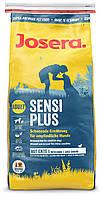 Сухой корм для собак с аллергией и проблемах с пищеварением Josera SensiPlus Adult 15КГ