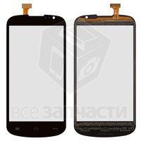 Тачскрин (сенсор) для мобильного телефона TCL J620, черный