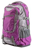 Рюкзак туристический с накидкой на 55 литров DEUTER KALME 55 (фиолетовый)