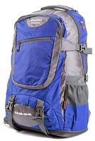 Рюкзак туристический с накидкой на 55 литров DEUTER KALME 55 (голубой)