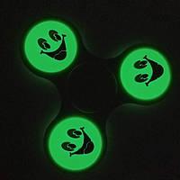 Светящийся спиннер / Спинер / Fidget spinner / светящийся с подшипниками разные цвета  ( Фосфор )
