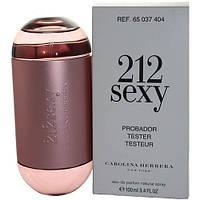 Женская парфюмерная вода Carolina Herrera 212 Sexy, 100 ml - Тестер