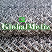 Сетка рабица д 2 мм 65х65 1,5 м от производителя, оцинкованная (горячего оцинкования)