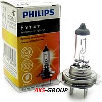Автолампа PHILIPS H7 Premium CP 12V 55W 12972PRC1
