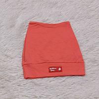 Детская Шапочка для малыша (оранжевая)