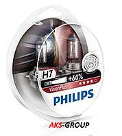Комплект ламп PHILIPS H7 VisionPlus SP 12V 55W 12972VPS2