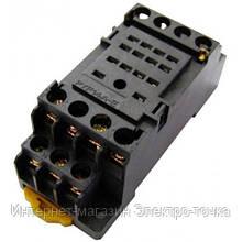 Разъем модульный e.control.p34s для промежуточного реле 3А на 4 группы контактов  E.NEXT