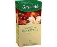 Чай Greenfield Vanilla Cranberry 25 шт 1,5 г/уп