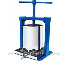 Пресс ручной (соковыжималка) для винограда и яблок (10 л)