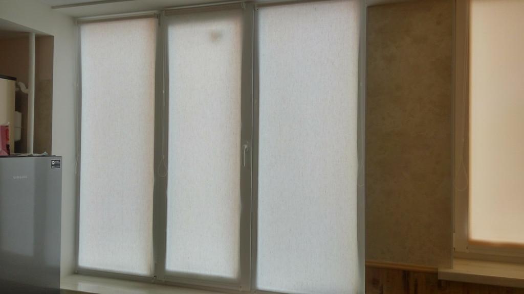 Рулонные шторы Flax Александрия. Тканевые ролеты Флекс Александрия