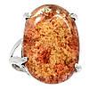 """Серебряное кольцо с лодолитом """"Азов"""" , размер 18.2  от студии LadyStyle.Biz"""