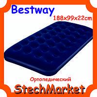Матрас Bestway 67471 флокированный 188x99x22см
