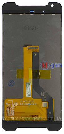 LCD модуль HTC Desire 628 черный, фото 2
