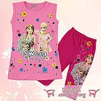 Костюмы с бриджами для девочек от 3 до 6 лет (5405-1)