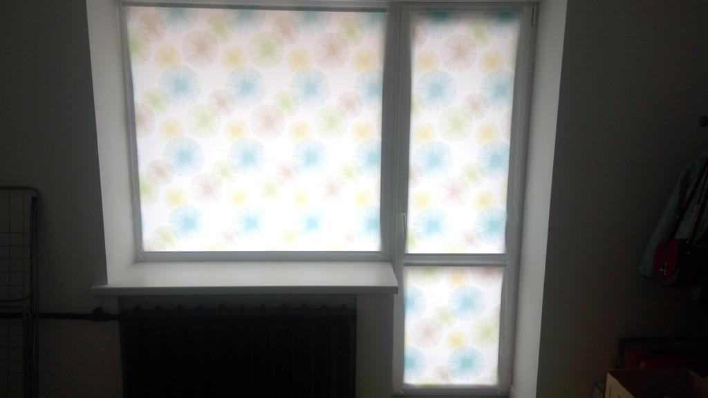 Рулонные шторы Salut. Тканевые ролеты Салют