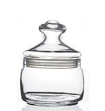 Банка со стекл. крышкой Pasabahce Cesni, 0,5 л (h=135мм,d=104х85мм) 97554