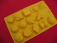 Форма силикон для конфет Ассорти