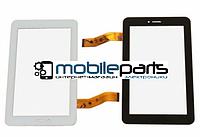 """Оригинальный Сенсор (Тачскрин) для планшета 7"""" 04-0700-0808 V1 (187*115 мм,51 pin) (Белый-Самоклейка)"""