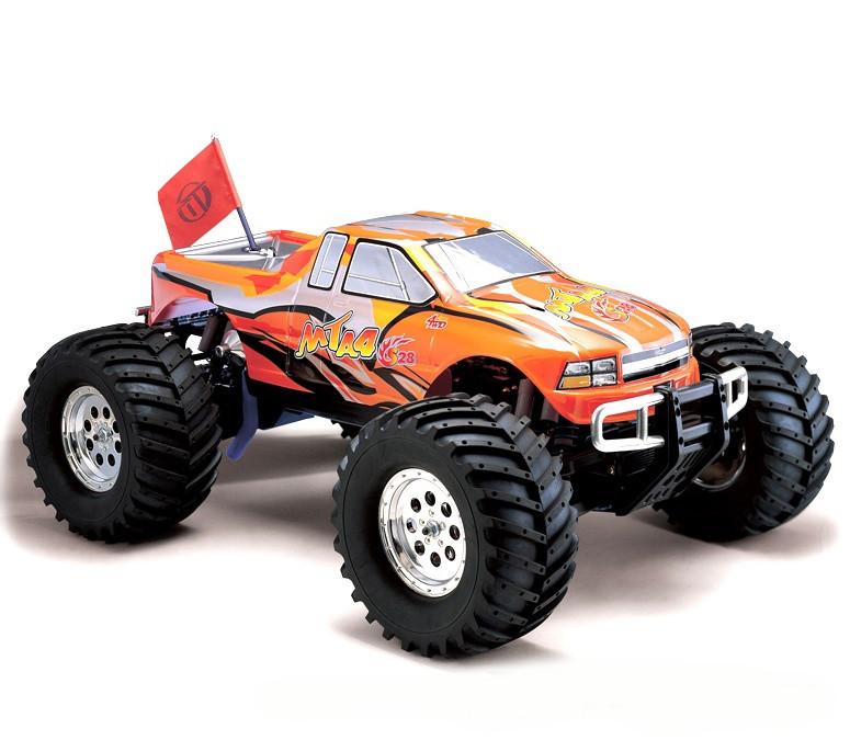 Автомобиль Thunder Tiger MTA-4 S28 Nitro PRO Monster 1:8 RTR 6228-F112