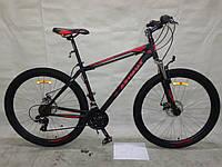 Горный спортивный велосипед 29 дюймов 21 рама  Azimu Energy  (оборудование SHIMANO) черный***