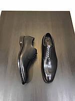 Мужские черные туфли Louis Vuitton