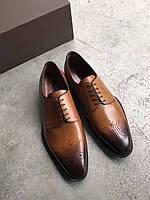 Мужские коричневые туфли Louis Vuitton