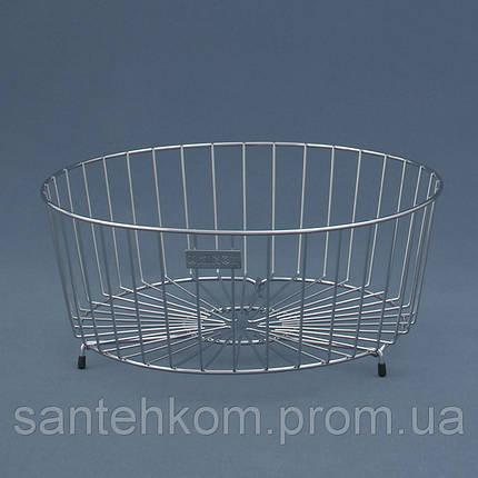 Корзина к кухонной мойке круглая Ukinox SB 490 (SBR 290) нержавеющая сталь, фото 2