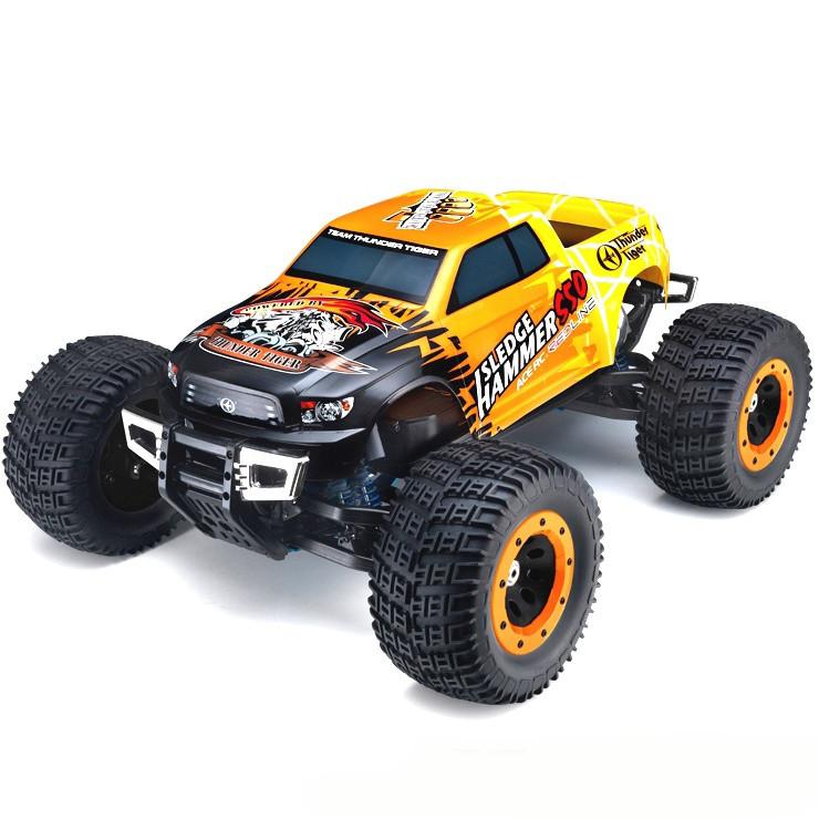 Автомобиль Thunder Tiger MTA-4 Sledge Hammer S50. Nitro PRO Monster Truck 1:8 RTR