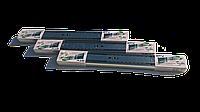 Направляющие мебельные шариковые с функцией бесшумного самодоката GTV  VERSALITE   PK-L-H45-300-A  L-300