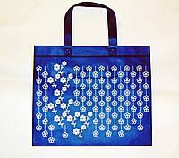 Еко сумка для покупок спан-бонд 31х27х10