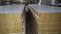 Кровельные сэндвич панели 60мм. с минеральной ватой ZN/ZN