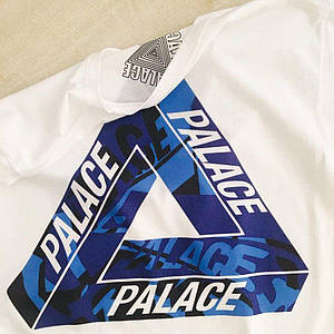 Футболка белая PALACE SKATEBOARDS