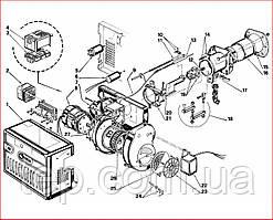Запасные части к горелке Riello 40 FS 5D