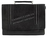 Стильный деловой мужской портфель с качественной PU кожи CANTLOR art. 375-03 черный