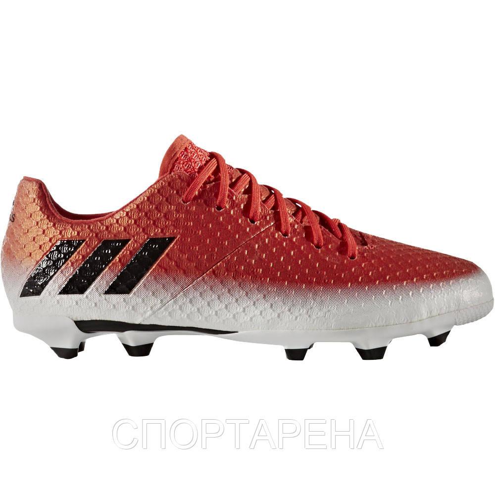 d830a60c Детские футбольные бутсы adidas JR Messi 16.1 FG BA9142 - СПОРТАРЕНА в  Днепре