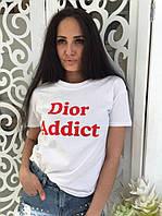 """Женская футболка """" Dior Addict """" №40-7797/1"""