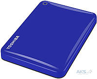 "Жесткий диск внешний Toshiba HDD 2.5"" USB  500Gb Canvio Connect II Blue (HDTC805EL3AA)"